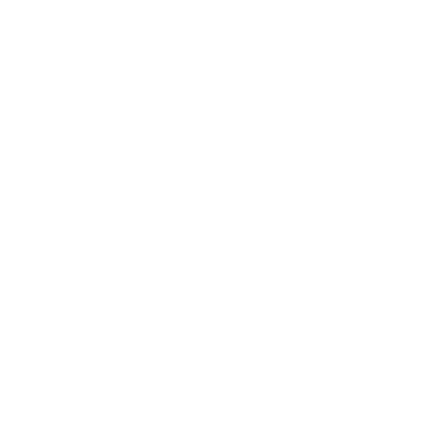 Micron white M encircled with slanted white line