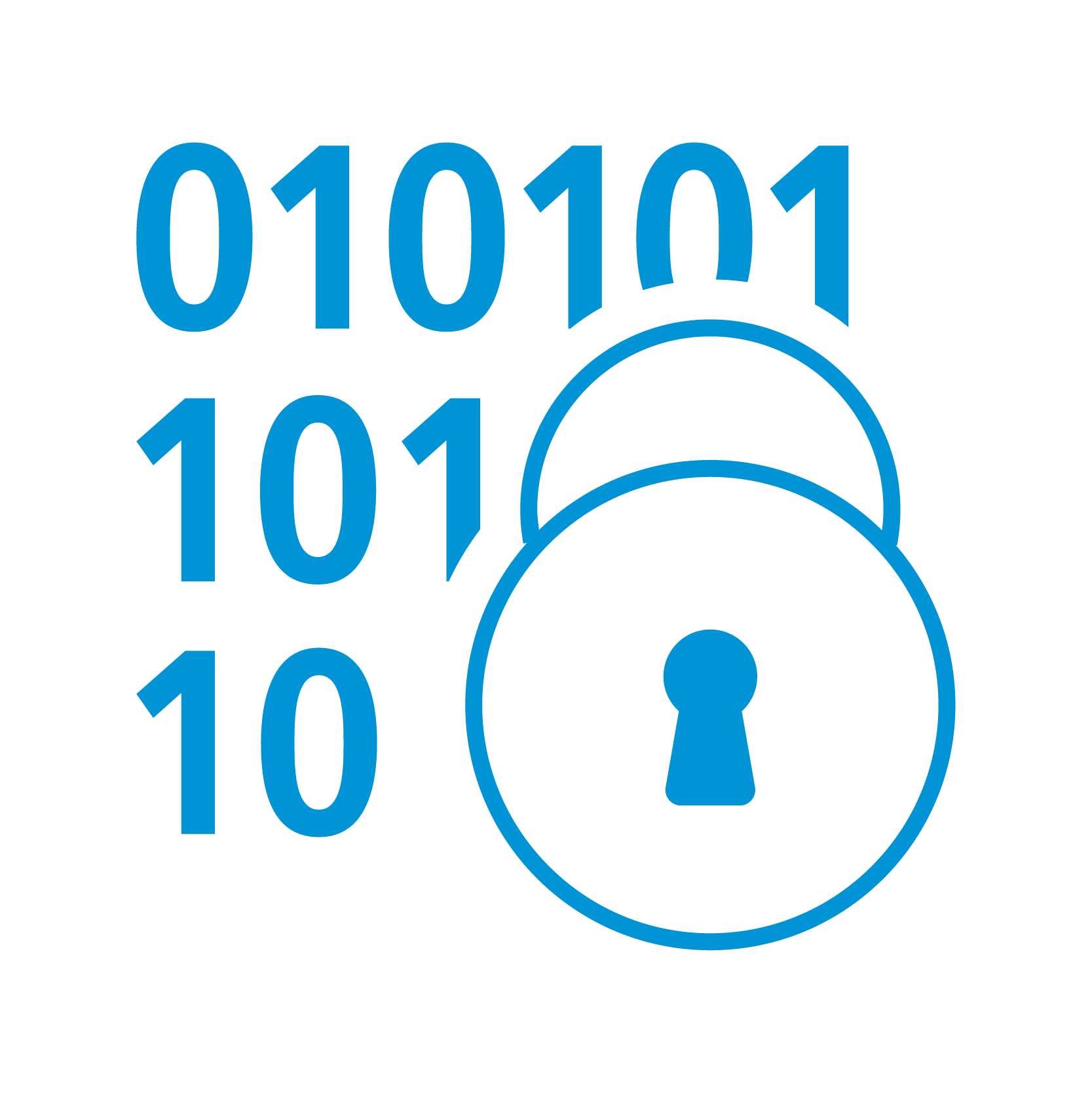 binary code lock