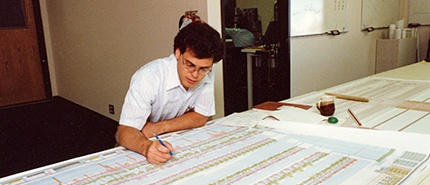 1979: Engineers Finalize Design for a 64K DRAM