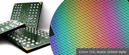 2005 年:美光推出高容量、低功率的行動 LPDRAM