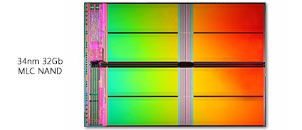 2007 年:美光和 Intel 率先推出低於 Sub-40nm NAND 快閃記憶體