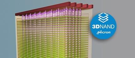 2015 年:美光和 Intel 推出 3D NAND,是迄今為止最高容量的快閃記憶體