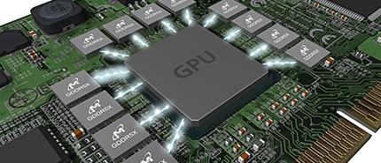 2016 年:美光推出 GDDR5X,是全球最快的繪圖型 DRAM