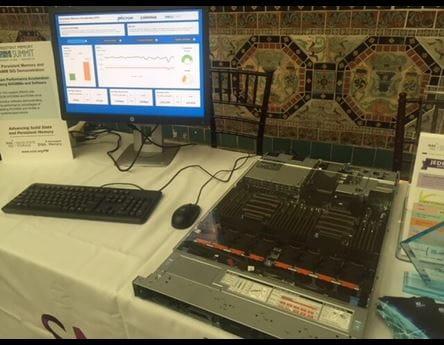 SNIA Demo with Micron NVDIMM