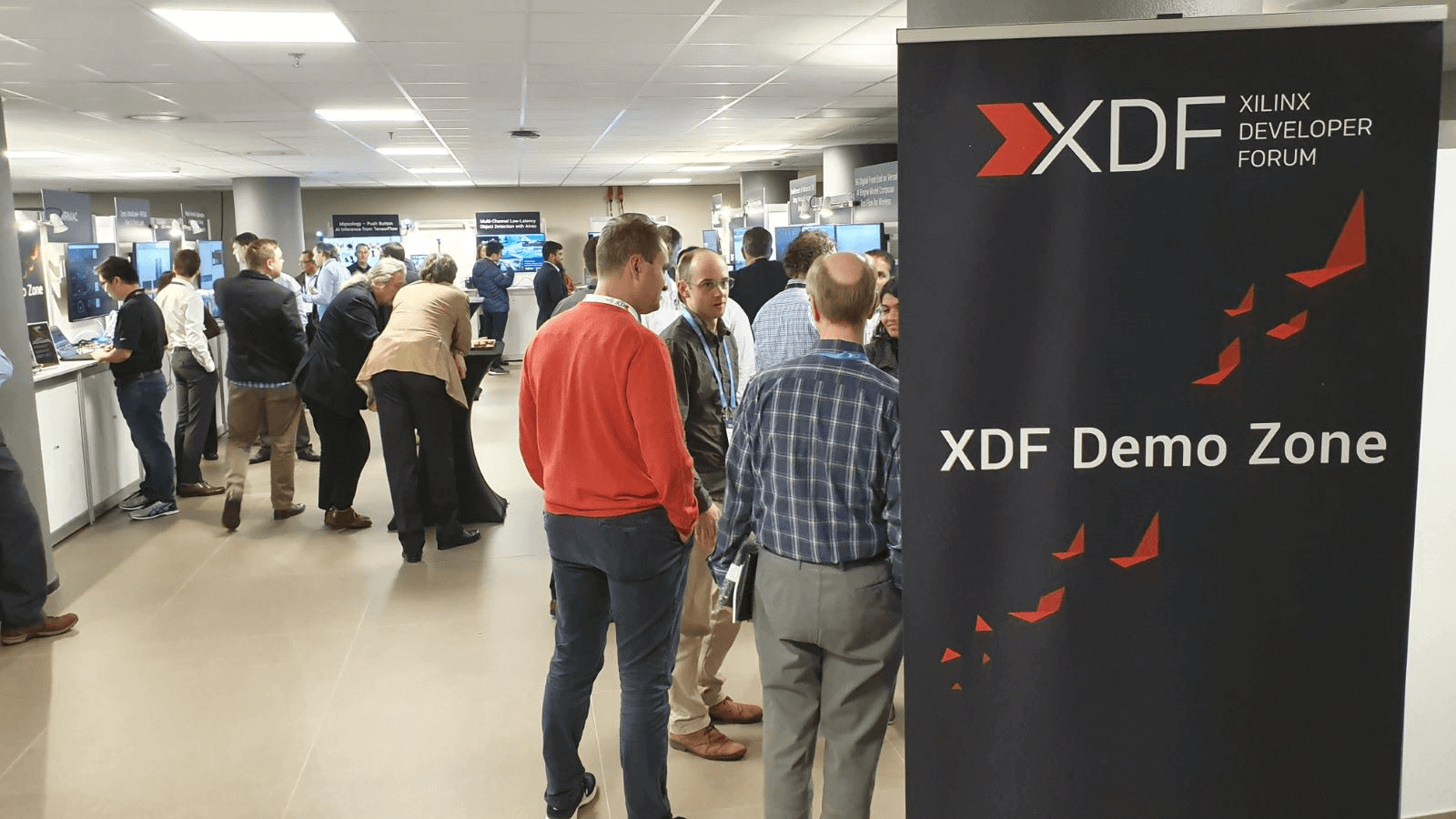 Demo zone at XDF