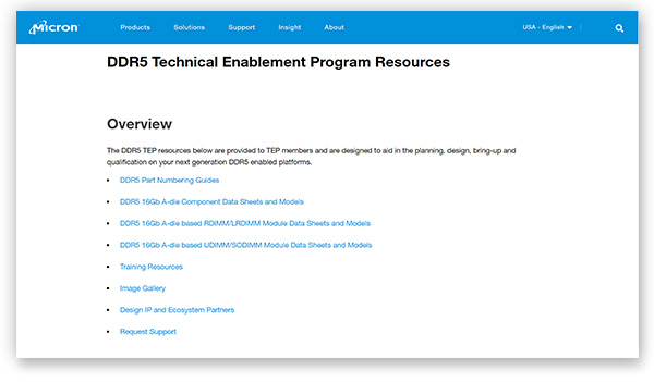 Image of TEP resources on Micron.com