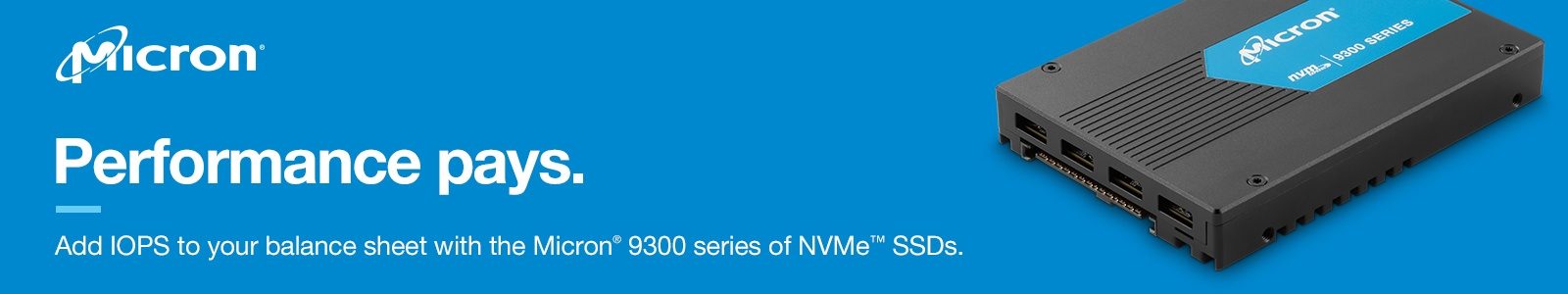 Oltp On Microsoft Sql Server With The Micron 9300 Pro Nvme Ssd 2 5x Performance With Fewer Drives