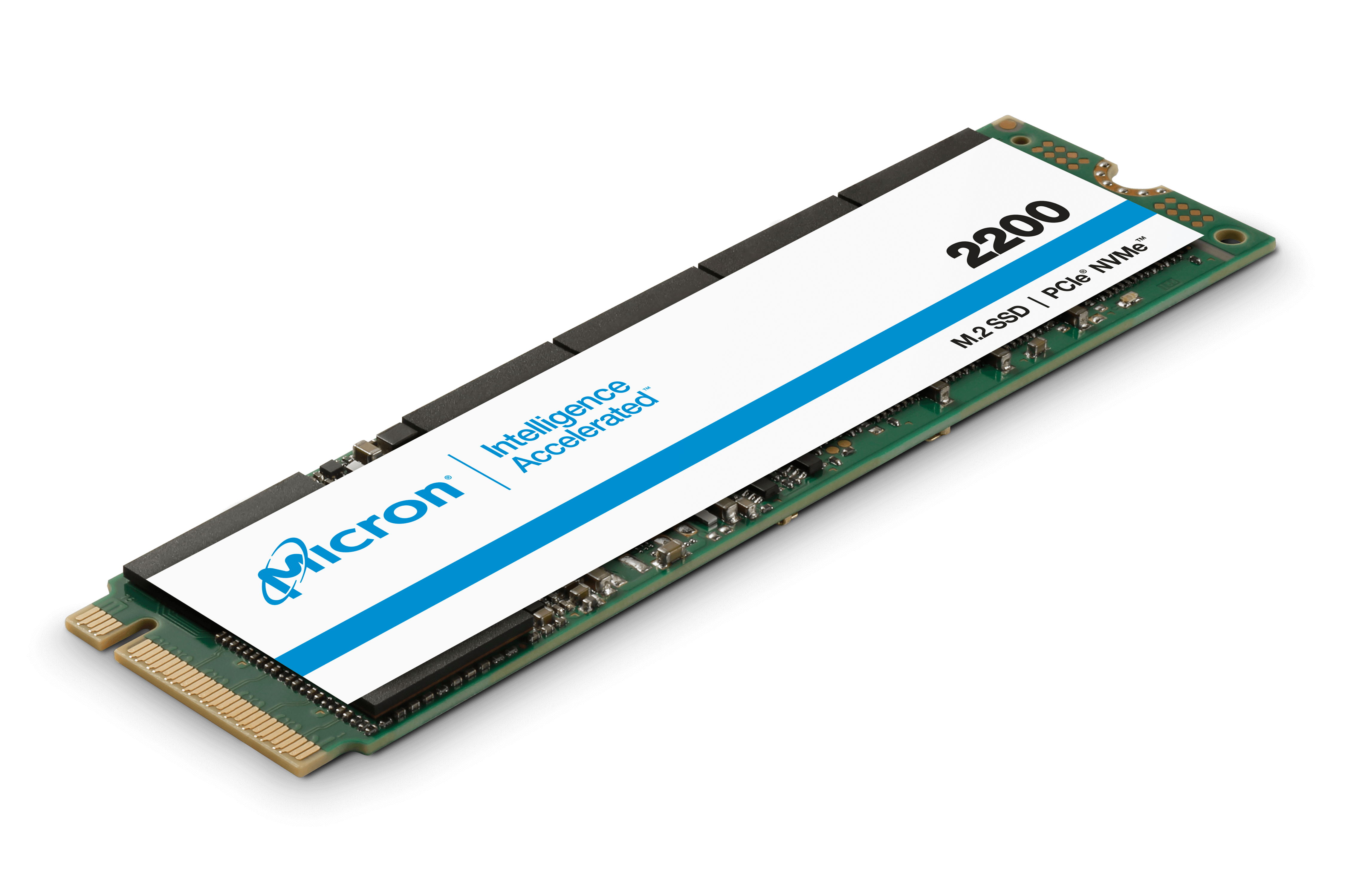 Micron Solid State Drive chip product series 2200 PCIe NVMe