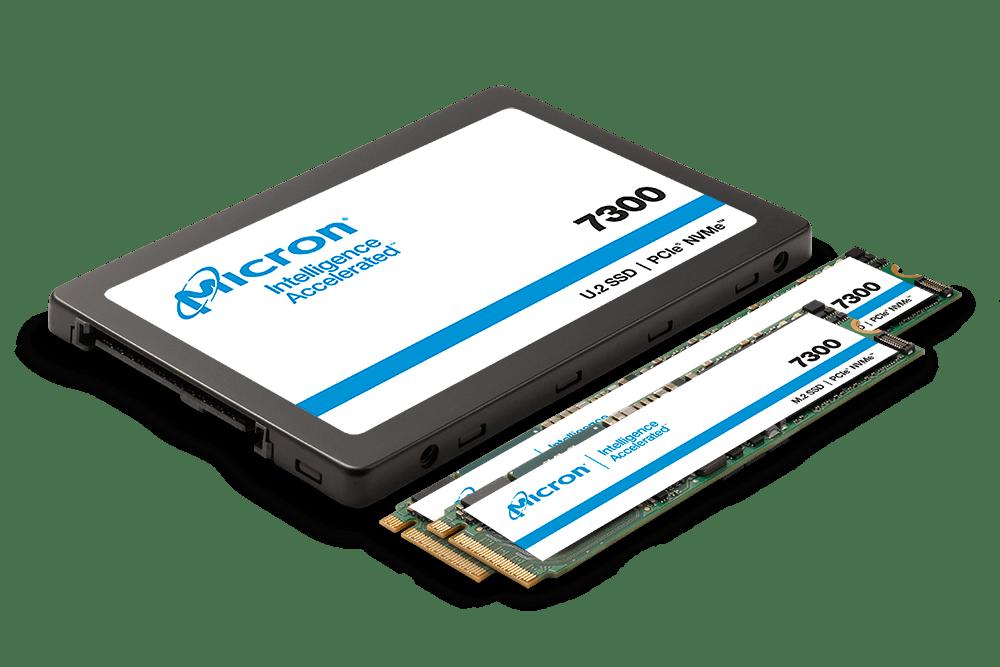7300 NVMe SSD 影像