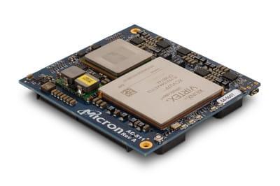 AC-511 module uses a Xilinx Virtex Ultrascale+ FPGA. It is performance and bandwidth together.