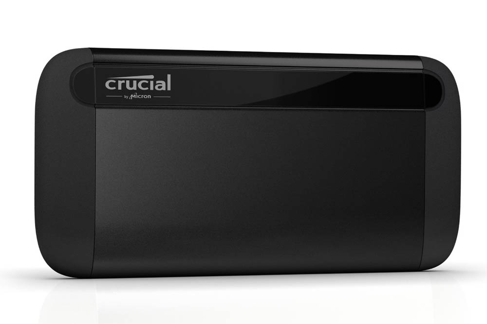 Crucial X8�Portable�SSD�� back up important photos, videos, and documents with up to 1TB capacity