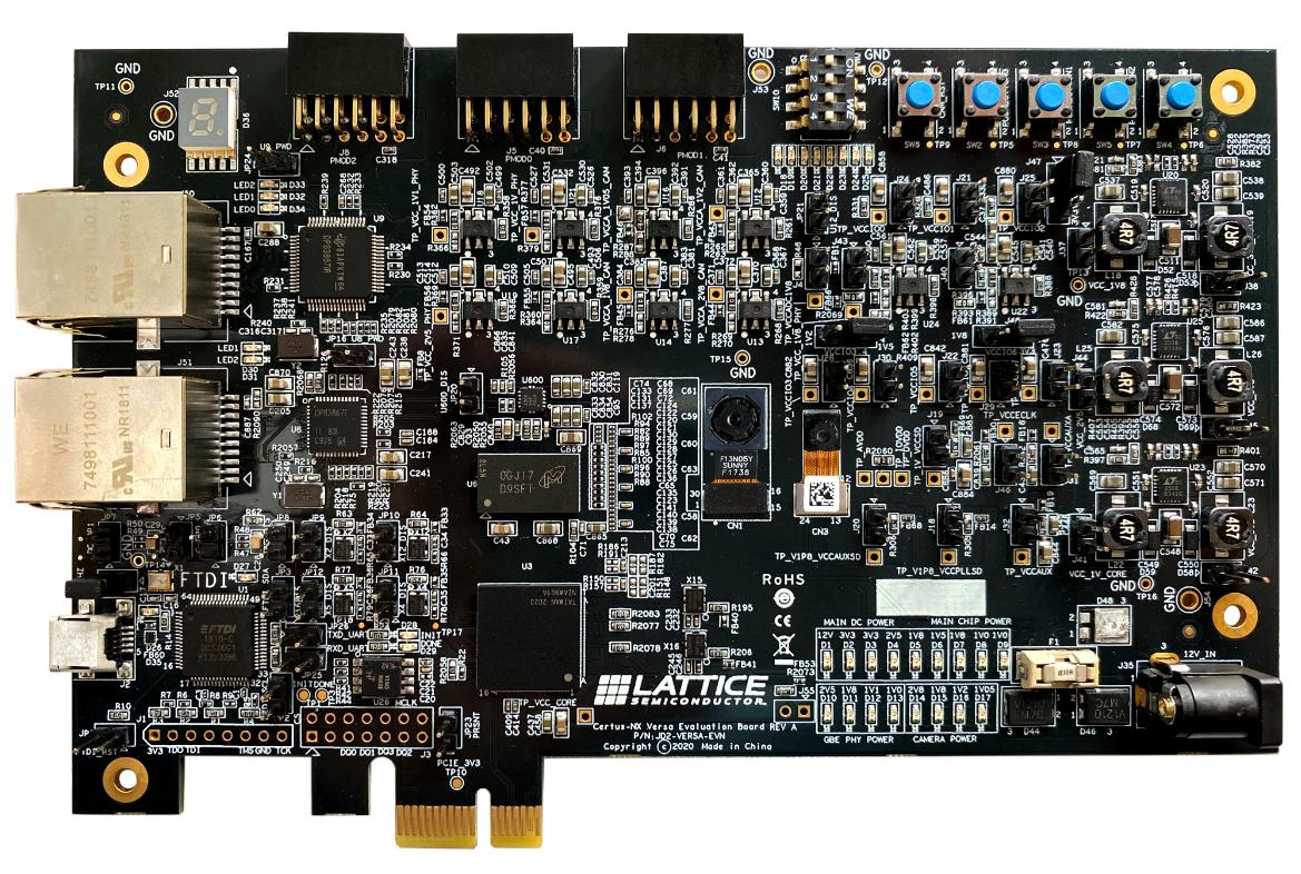 Lattice Certus-NX Evaluation board