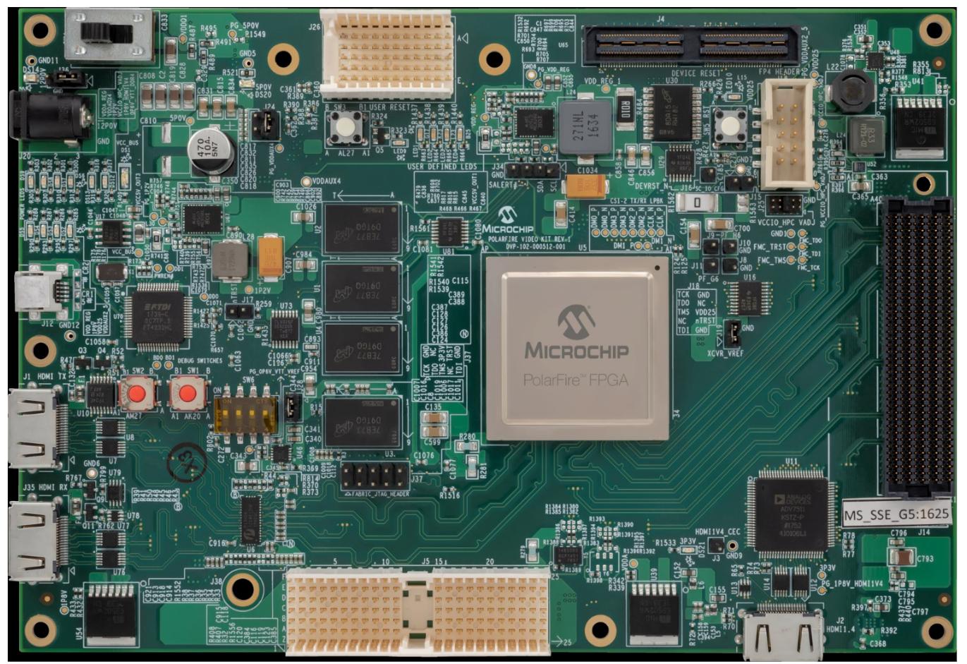 Microsemi Featured Board