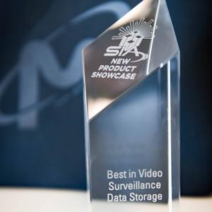 Image of glass SIA award