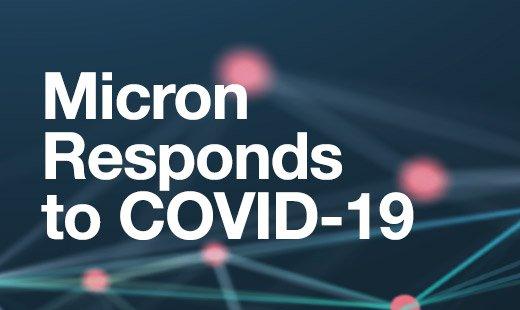 美光對 COVID-19 的應變措施