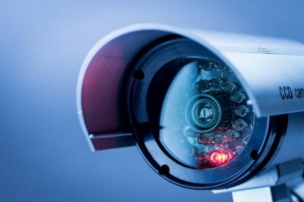 Image of surveillance video camera